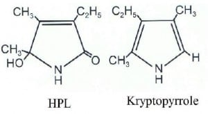 HPL and kryptopyrrole chemical structures
